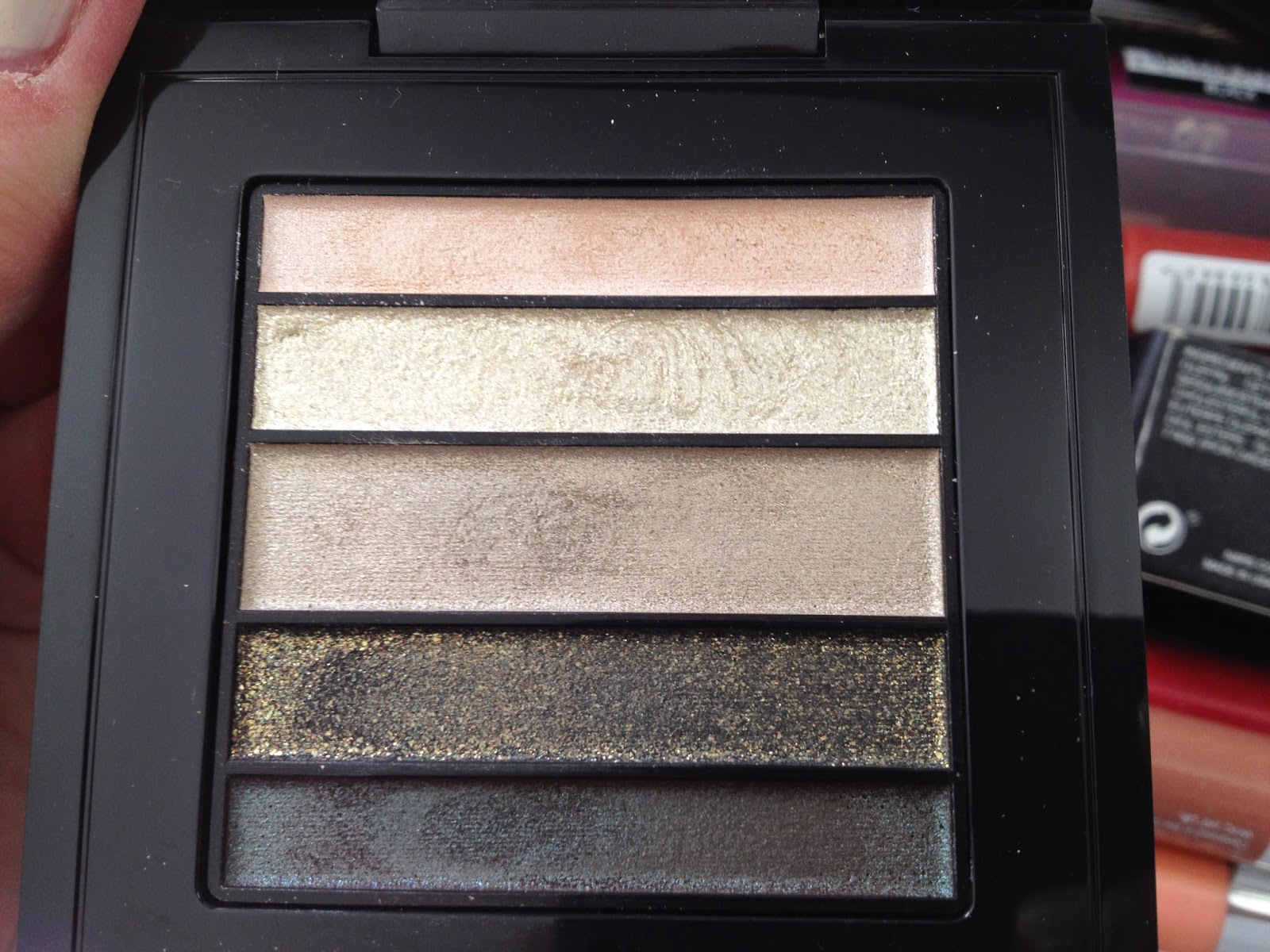 MAC Greenluxe Veluxe Pearlfusion Eyeshadow Palette