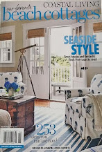 Patti&#39;s Artful Design is in the current reissue of COASTAL LIVING magazine&#39;s,