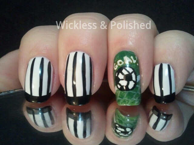 Wickless Polished Soccer Nails