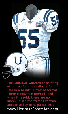 Indianapolis Colts 2006 uniform