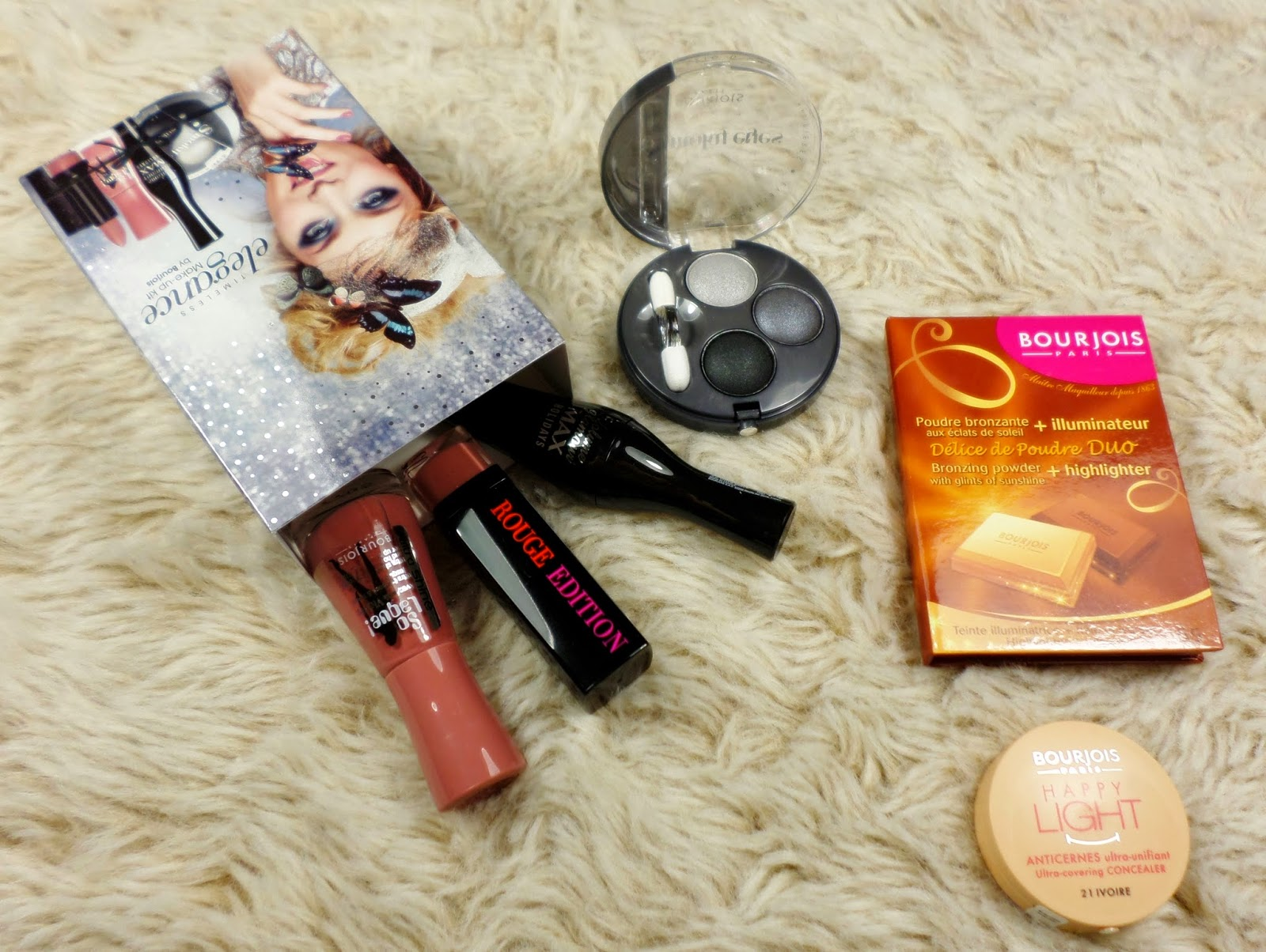 Bourjois Timeless Elegance Makeup Kit Boots Free Gift with Purchase 2014