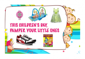 Children's Day Offers from Flipkart