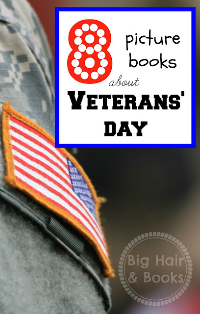 Picture Books for Veterans' Day #military #veteran #kids