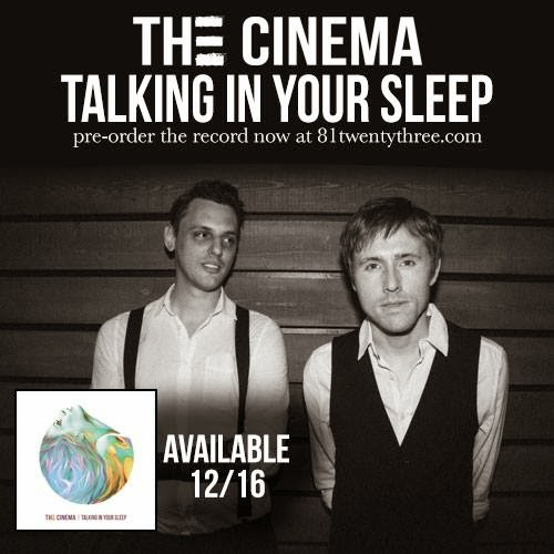 The Cinema release album with 81 twenty-three.