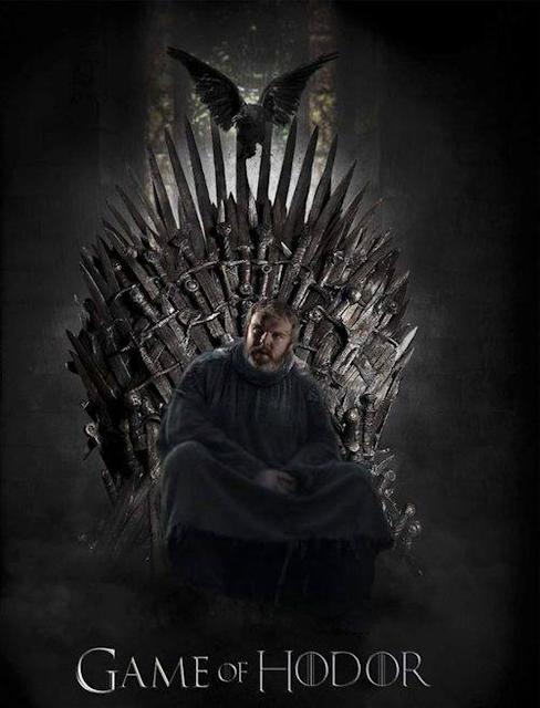 Hodor trono de hierro - Juego de Tronos en los siete reinos