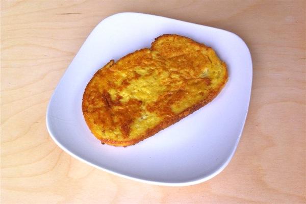 The VEGG vegan egg yolk french toast