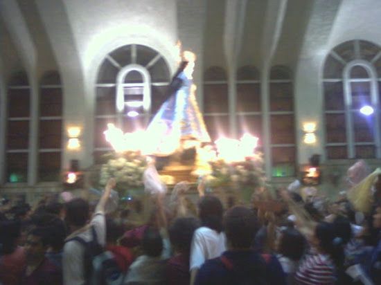Our Lady of Antipolo inside Quiapo Church