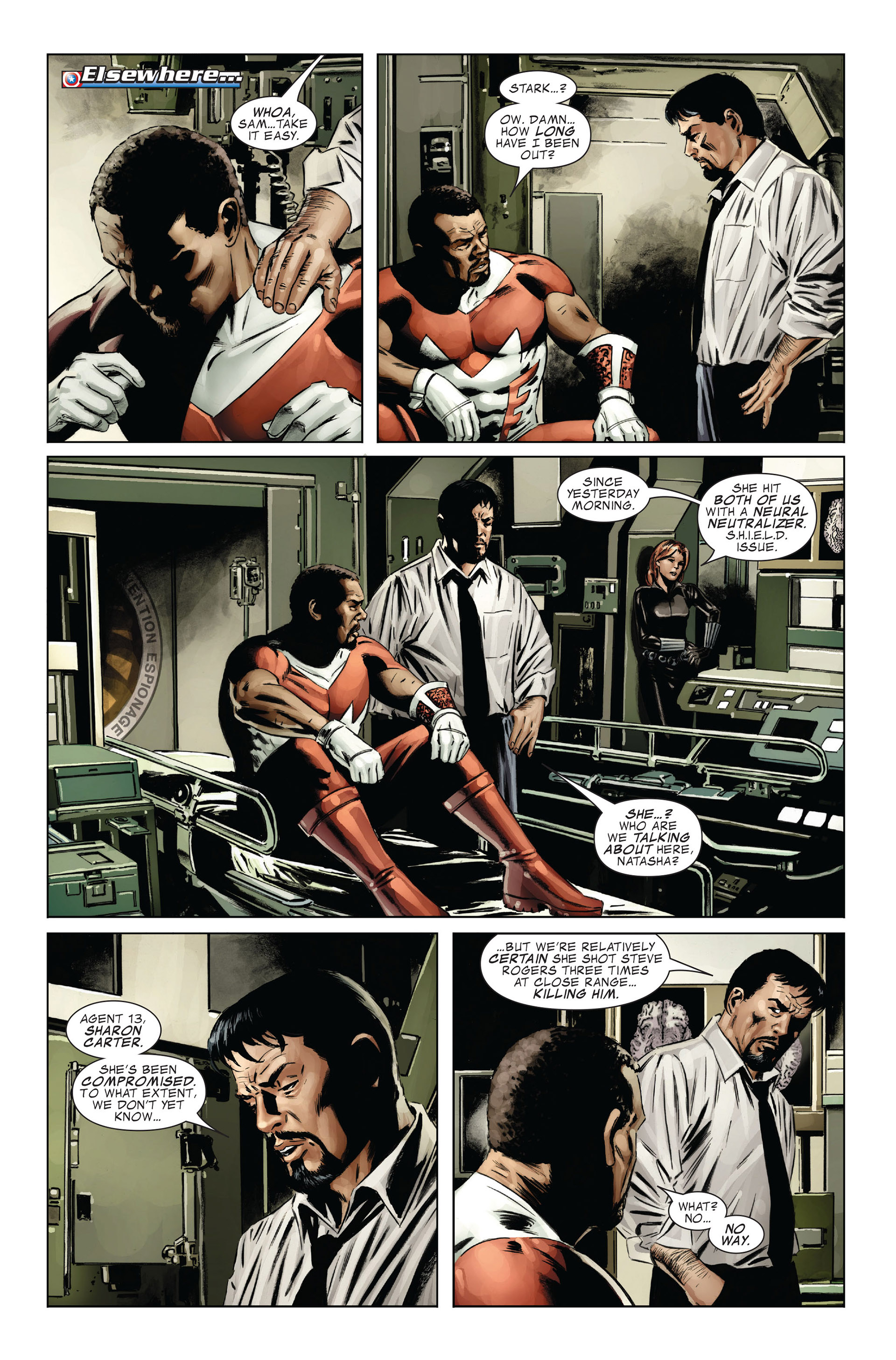 Captain America (2005) Issue #31 #31 - English 10