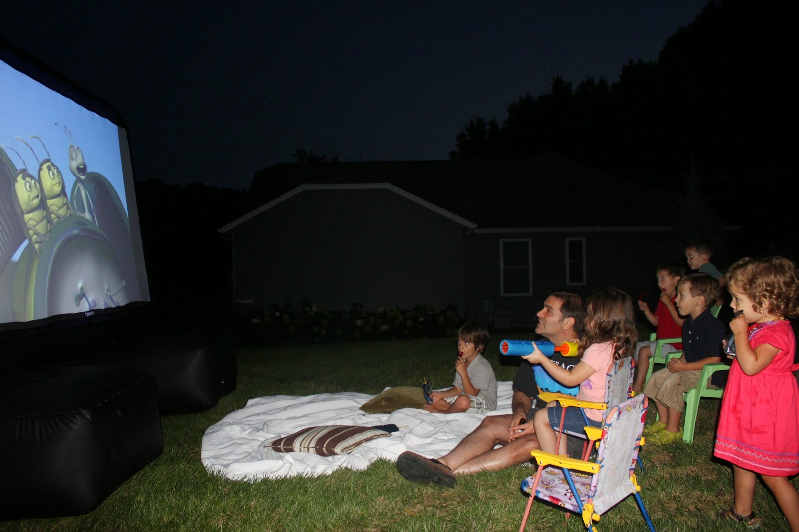 mrs party planner outdoor movie night
