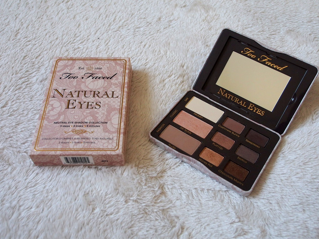 Beauty Chats: Too Faced Natural Eyes Palette.