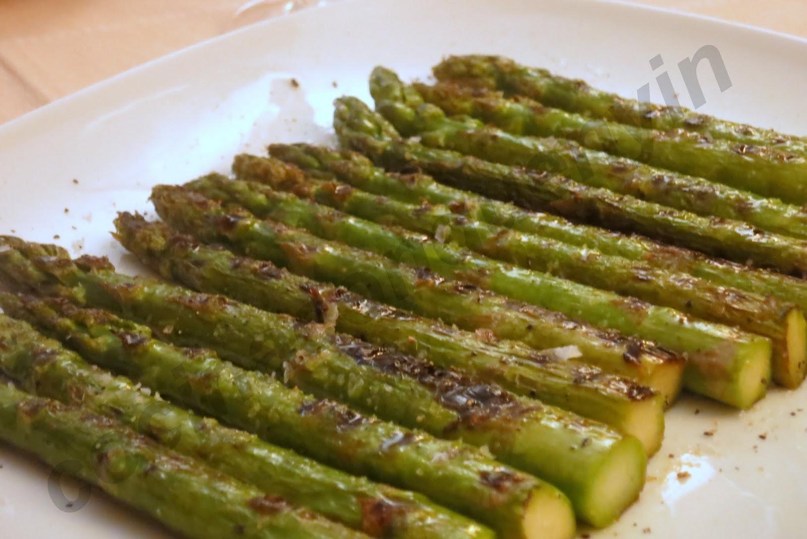 cocina con quenyin esp rragos verdes a la plancha