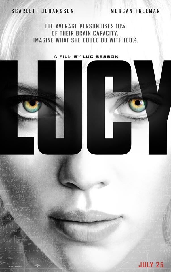 Póster: Lucy, de Luc Besson