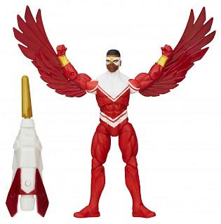 """Hasbro Avengers Assemble 3.75"""" Falcon Figure"""