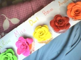 Catatan Kehidupan Membuat Bunga Mawar Dari Plastisin