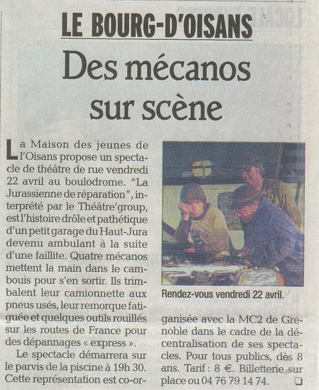 News de l 39 office de tourisme bourg d 39 oisans avril 2011 - Bourg d oisans office tourisme ...