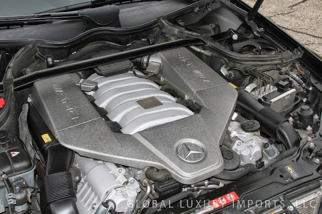 mercedes clk amg black series engine