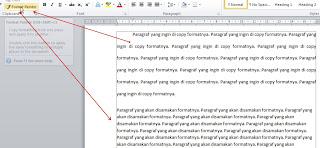 Copy Format Paragraf