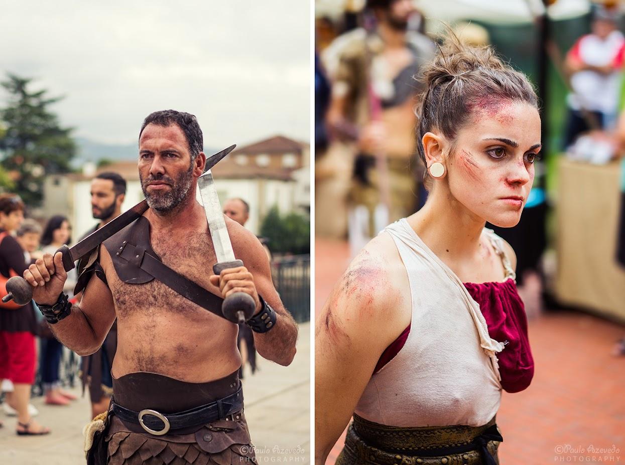 Festa dos Povos Chaves - Gladiadores
