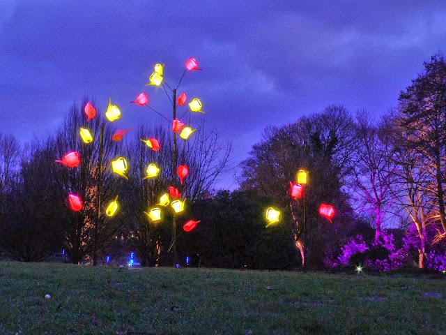 Winterleuchten Westfalenpark Lichter Illumination Dortmund Ruhrgebiet