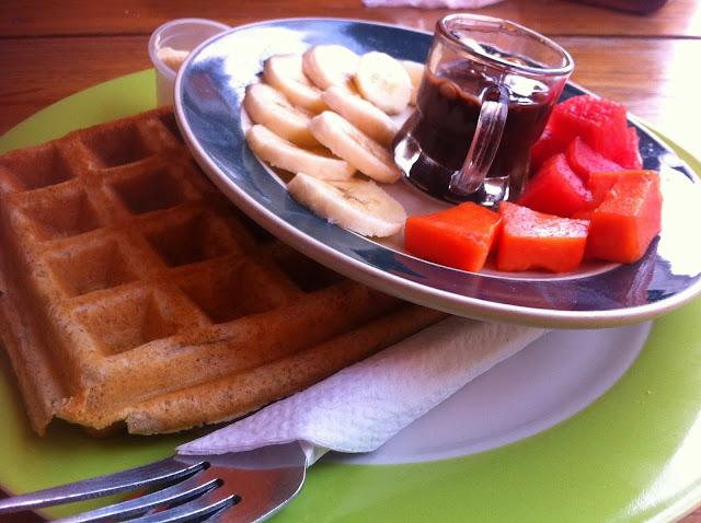 Breakfast in Caye Caulker Belize