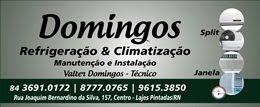 DOMINGOS REFRIGERAÇÃO - LAJES PINTADAS, RN