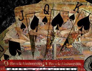 Full Tilt Poker with the name Brock University