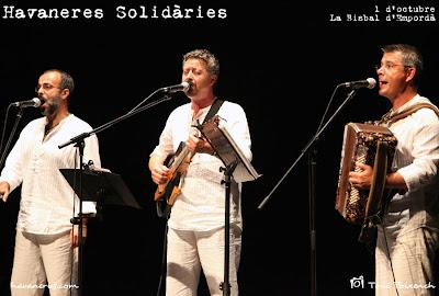 Peix Fregit a la cantada d'havaneres Solidàries de la Bisbal d'Empordà