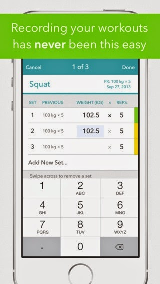 Strong - Workout Tracker & Training Log for Bodybuilding