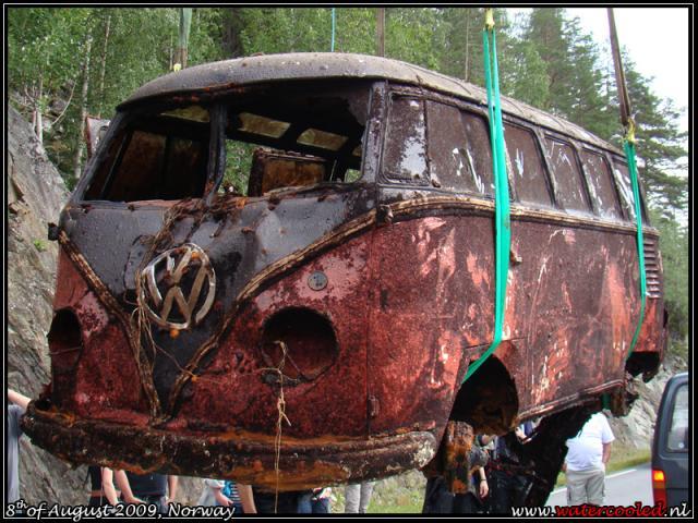 rare vw camper rescued vw bus wagon