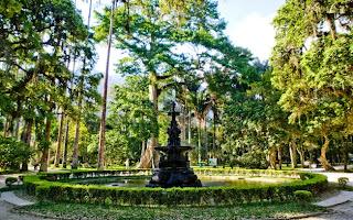 Chafariz Central no Jardim Botânico