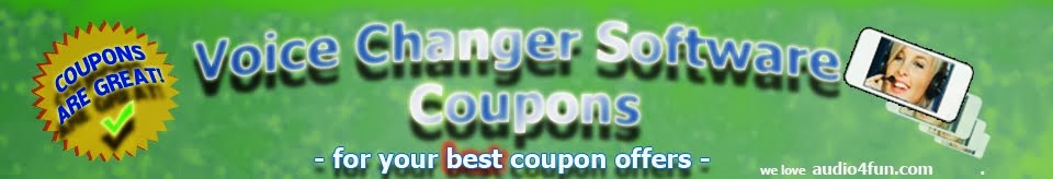 Voice Changer Software Coupons