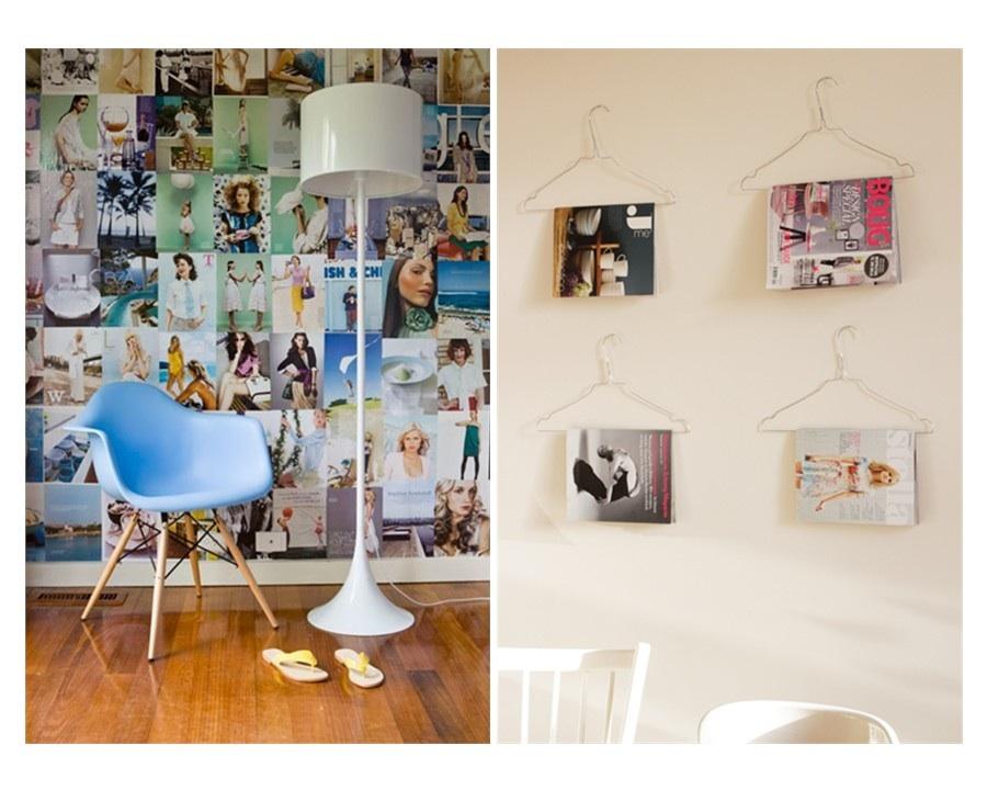 Interieur inspiratie tijdschriften op je muur - Interieur muur ...