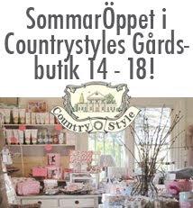 Sommaröppet i Countrystyles Gårdsbutik i Falkenberg