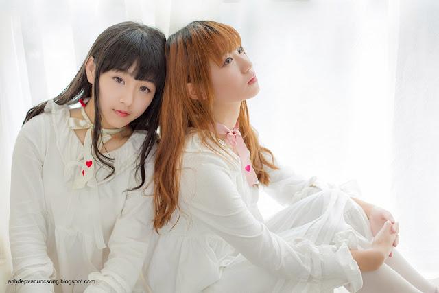 Hai chị em xinh như thiên thần 1