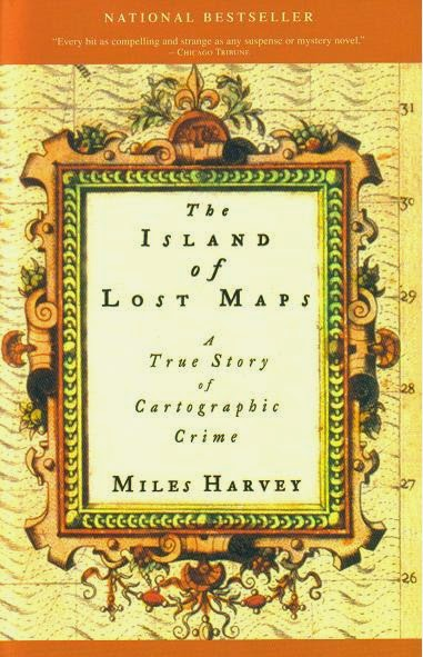 Coberta del llibre The Island of lost maps