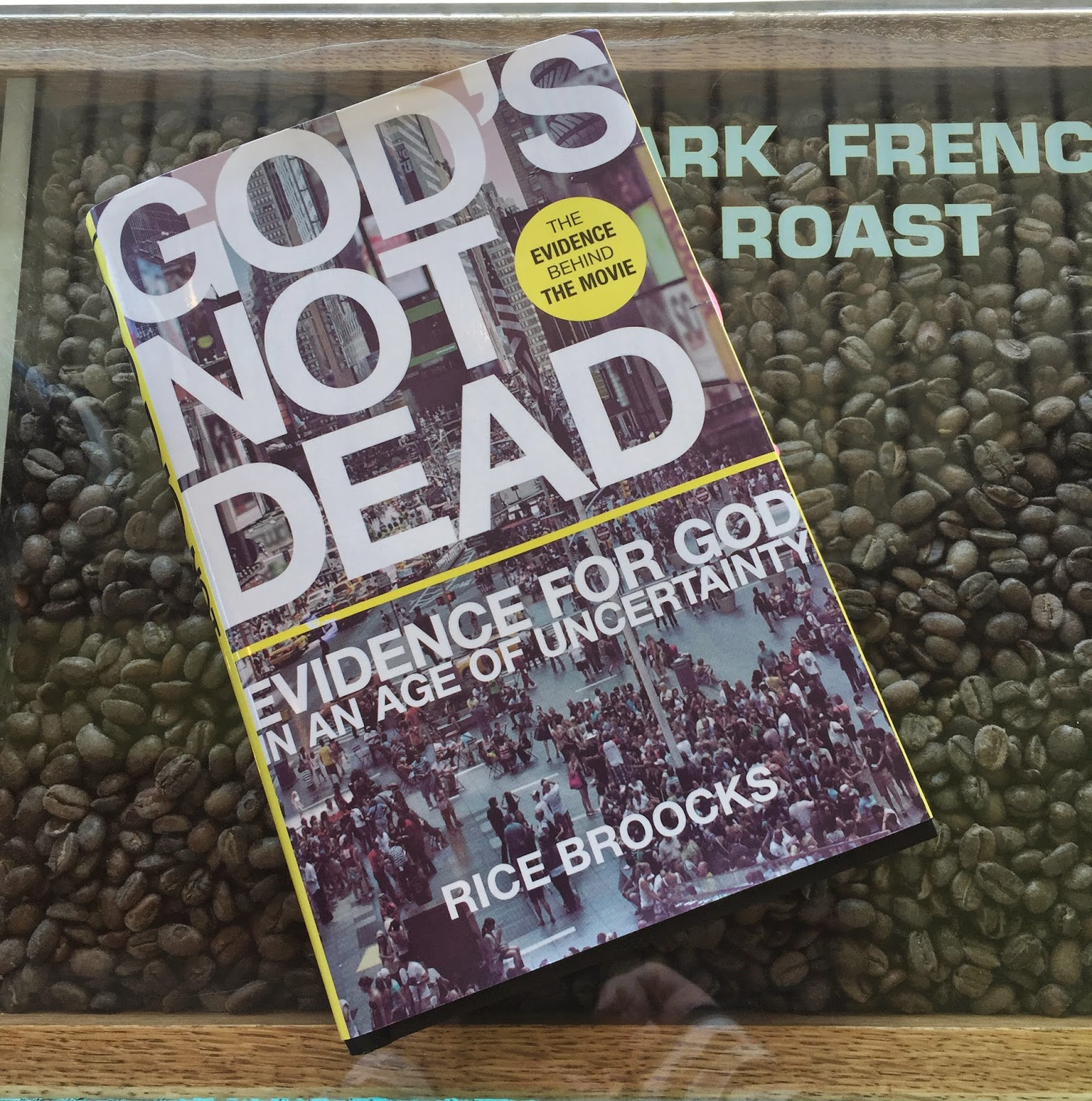 God's Not Dead by Rice Broocks for reading discussion
