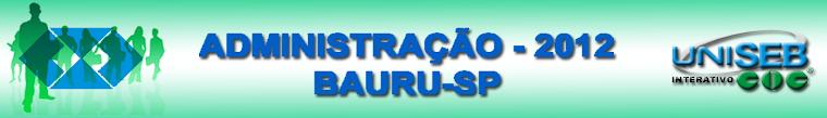 Administração COC - Turma 2012