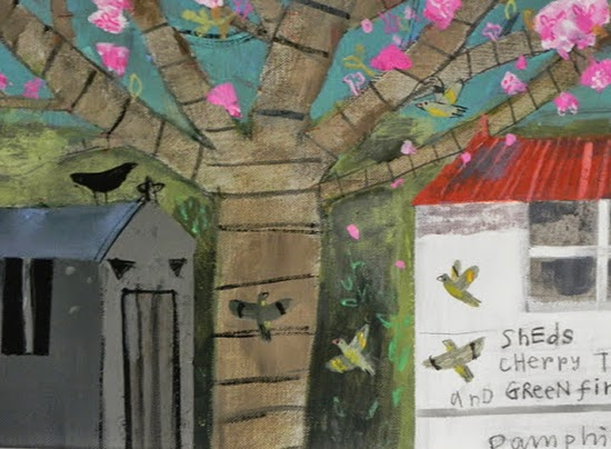 伊萊恩Pamphilon美麗的花卉風格-藝術家的靈感充滿活力的用色和自由.自信.的方法繪畫 。。。 - milk  - ☆ Milk ☆ 平平。淡淡。也是真。