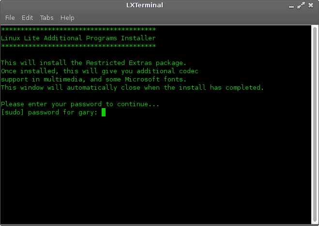 Install-restricted-extras-package-Linux-Lite