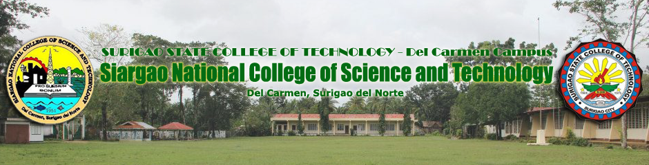 SNCST - Siargao National College of Science and Technology