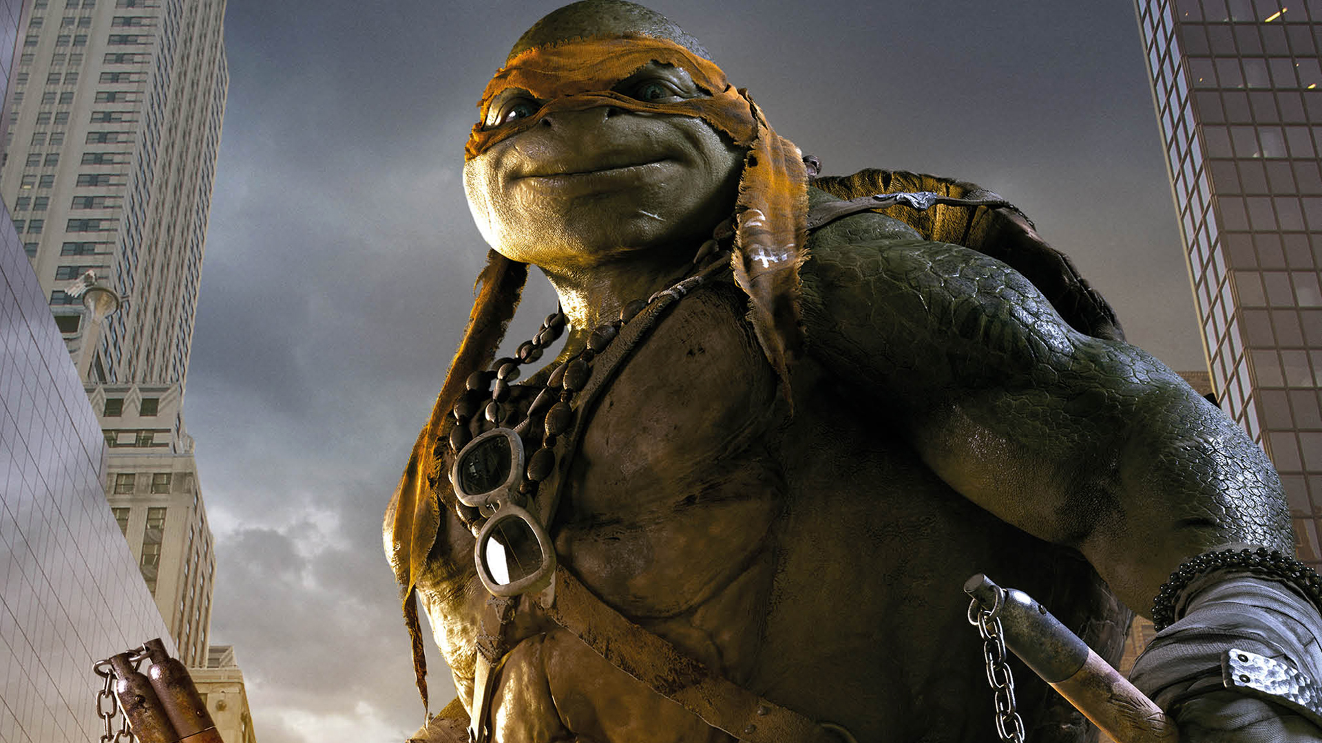Michelangelo TMNT 2014 Wallpaper HD