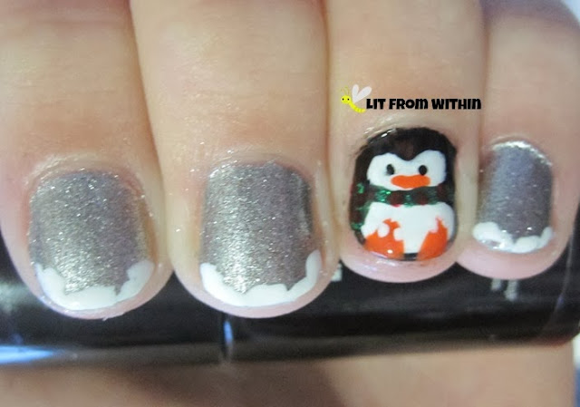 snow and penguins