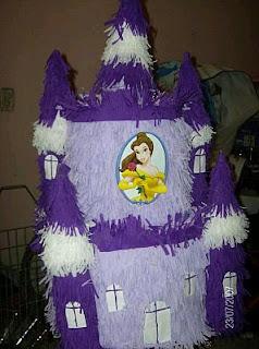 Piñatas Bella y la Bestia para Fiestas Infantiles