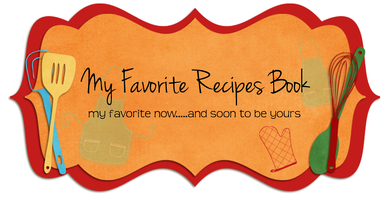 My Favorite Recipes Book