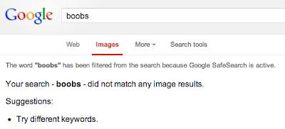 Google Image Filter Boobs