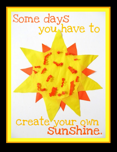 photo of: Cherish Today: child's sunshine collage