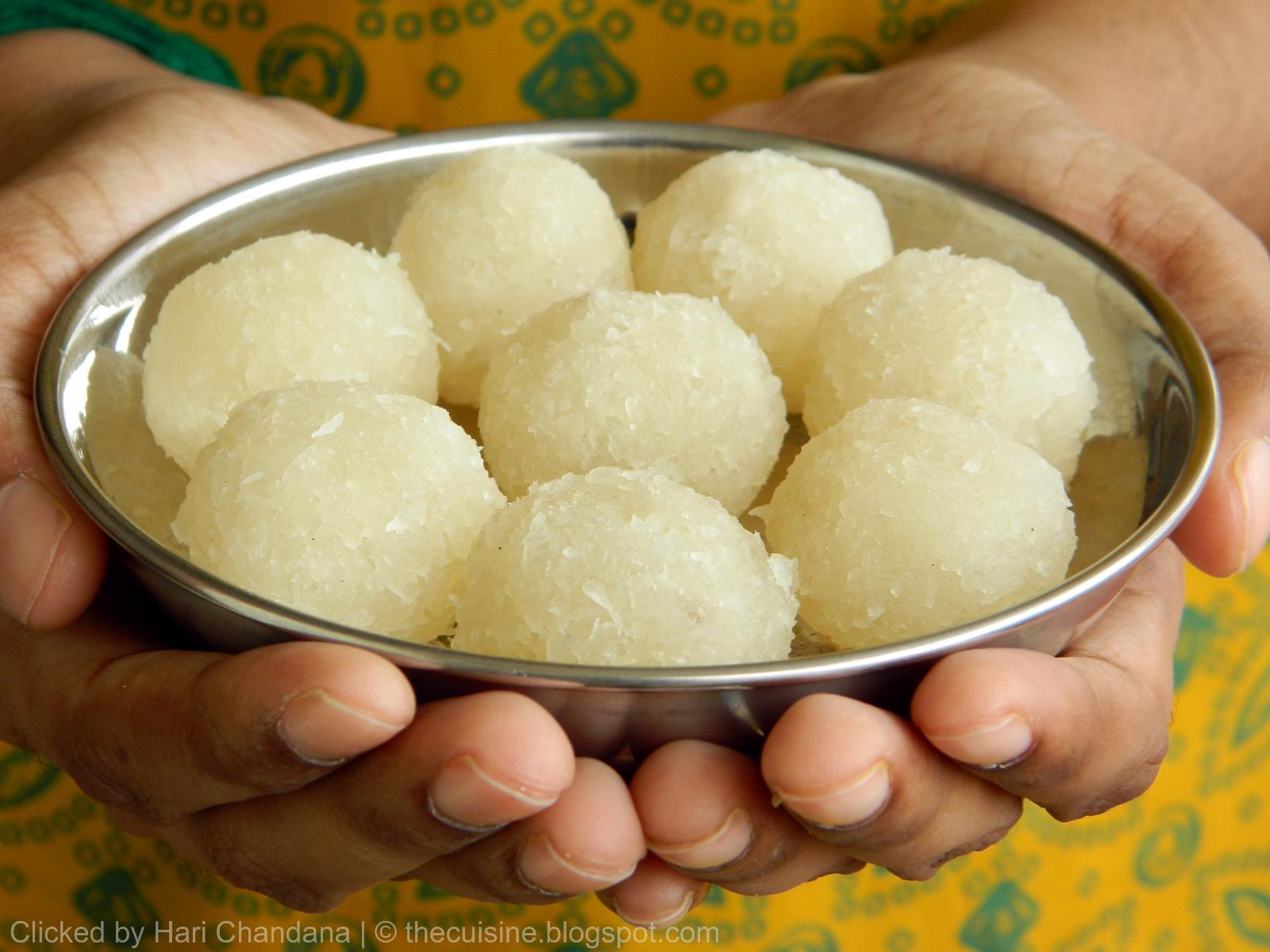 Coconut Laddu for Gokulashtami or Janmashtami