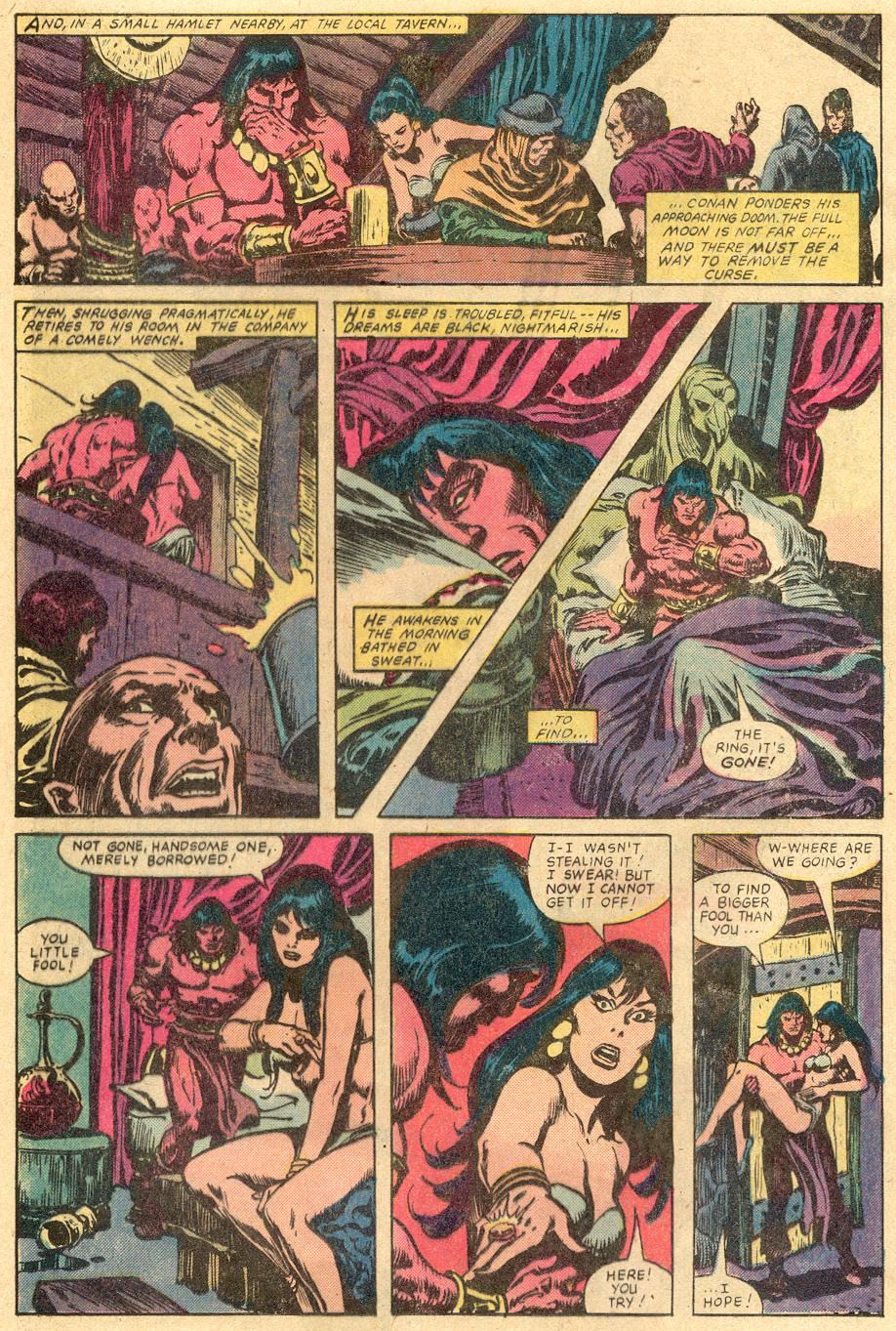 Conan the Barbarian (1970) Issue #131 #143 - English 17
