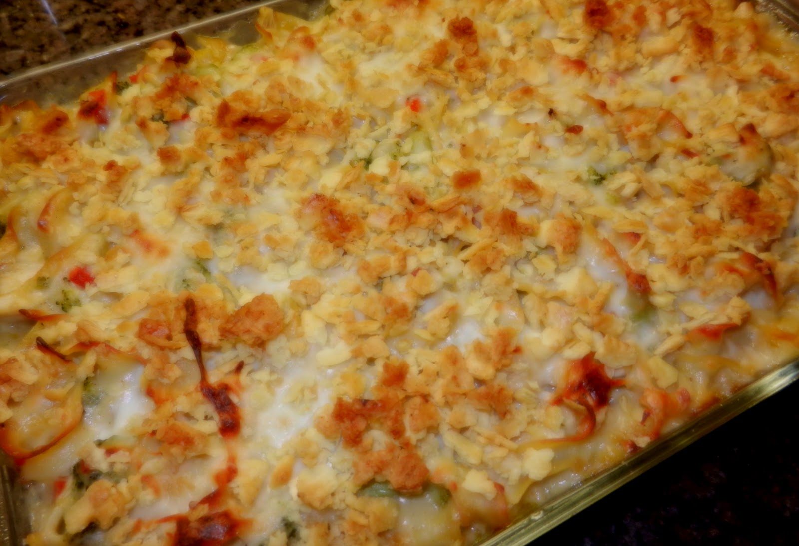 Swiss Chicken And Broccoli Noodle Casserole ...