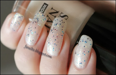 "art collection ""white"" & Manhattan super nails LE ""captain sparkle"""